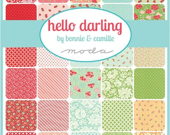 Hello Darling Layer Cake by Bonnie and Camille for Moda - One Layer Cake - 55110LC
