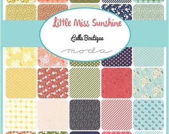 Little Miss Sunshine Fat Quarter Bundle by Lella Boutique for Moda - One Fat Quarter Bundle - 5020AB