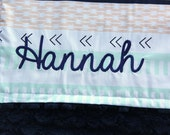 Add a Monogram to Any Blanket