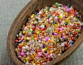 20g Czech seed beads Mixed colorful seed beads MIX-11 Czech rocailles Seed bead soup seed beads