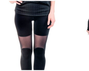 Black Leggings, Sexy Tights, Lace Leggings, Festival Clothing, Casual, Military, Gothic Pants, Steampunk Leggings