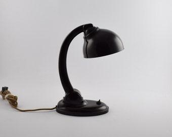 Bakelite Desk Lamp by E K Cole TYP 11126 Wonderful bakelite table lamp
