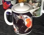 Koi Teapot - Creamer - Gravy Pitcher