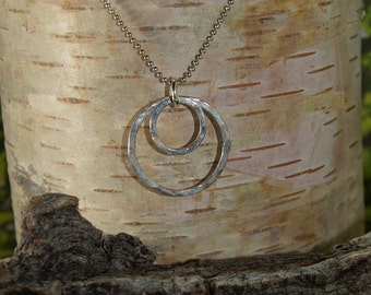 Sterling Silver Circles of LIfe Necklace