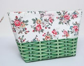 Large Zipped Pouch for Crafting Projects