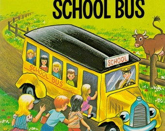 The Bingity-Bangity School Bus by Fleur Conkling, illustrated by Ruth Wood