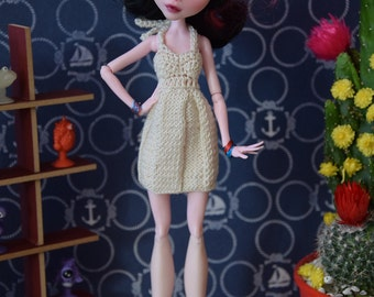 MH doll ~ Custom- Knitted & crocheted dress