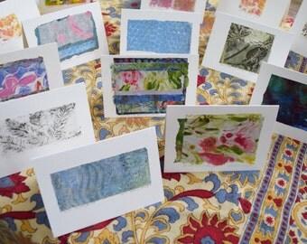 original fine art notecards ( or miniature art)