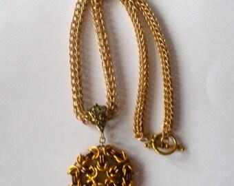 Byzantine Medallion Necklace