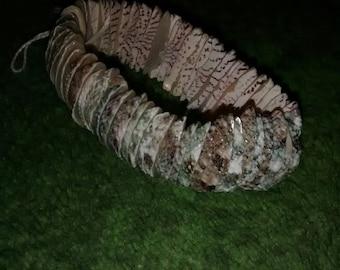 Shell Cluster Huggie Bracelet