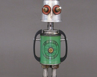 ROBOT SCULPTURE - Metal art robot Metal art sculpture - Norvell