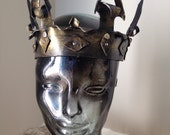 Leather Regal Crown (Stephan)