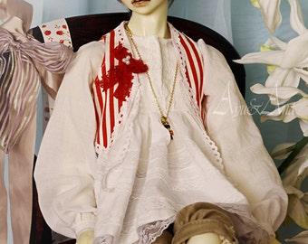 Sweet Lover OOAK handmade dress set for bjd dollfie boy sd17 switch 65cm body sd clothing fantasy kawaii circus mori style