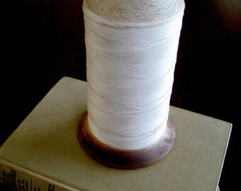 Primitive String Spool - Vintage Intrinsic Industrial Wooden String Spool - Vintage Spool Craft Room or Office Decor - Vintage String Prop