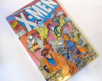 X-Men [A Mutant Mile Stone]; Rubicon; 1991 (1st Issue. A Legend Reborn) Chris Claremont (Author), Jim Lee (Illustrator)