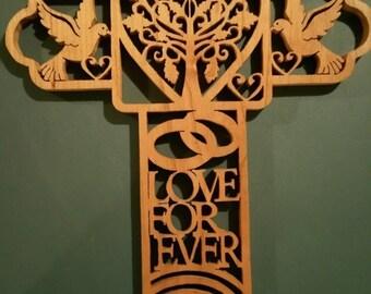 Wedding or Anniversary Cross