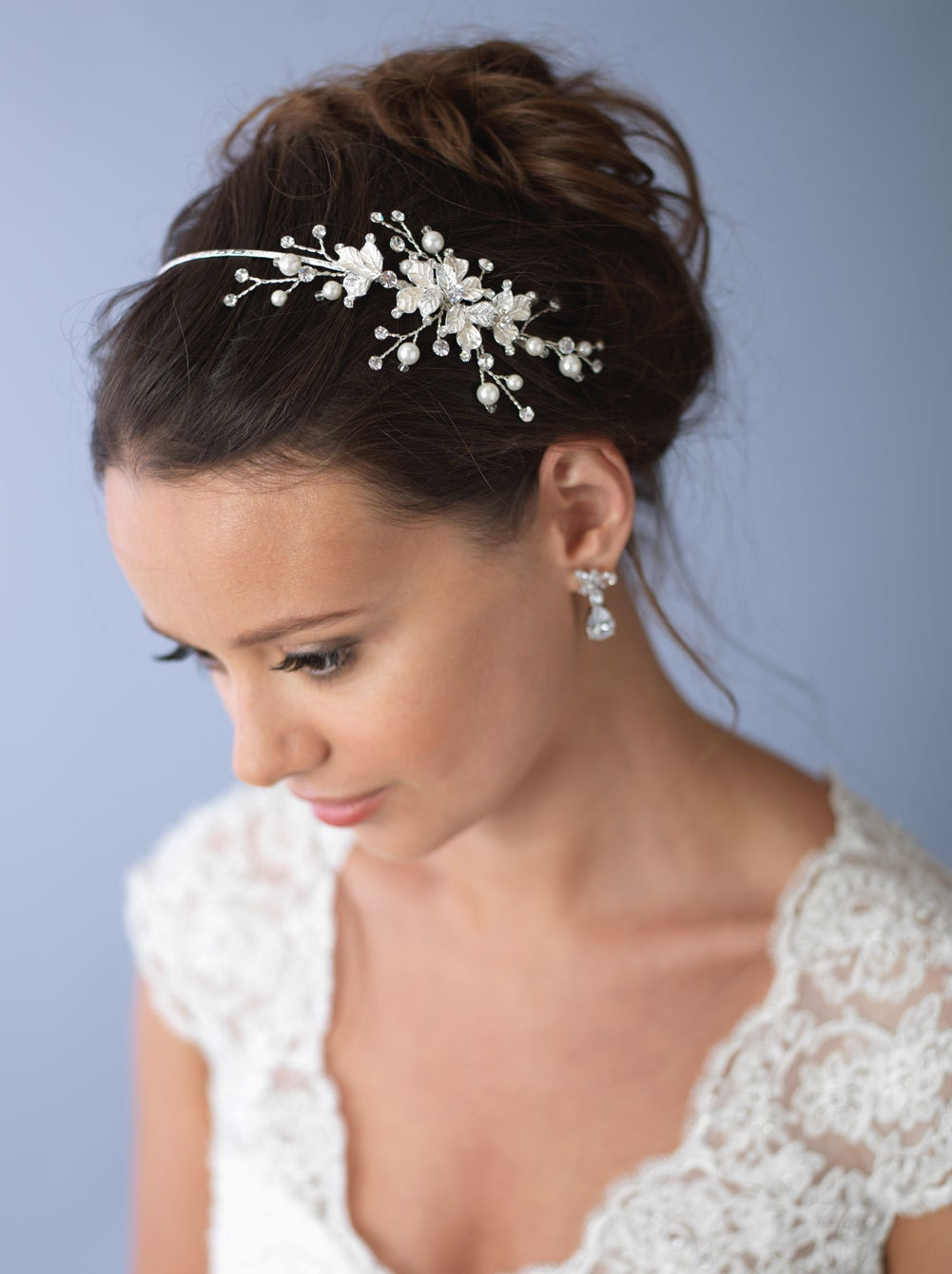 We have a stunning range of wedding hair accessories including bridal hair combs, tiaras, hair pins, flower hair clips, vine headpieces, etc.