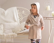 Boys bathrobe Boys linen robe Homewear Linen gown Christmas gift Childrens Kids robe Boys clothes Hooded robe Lounge robe