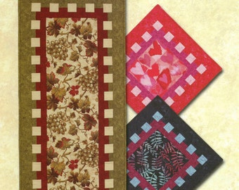 Waffle Time Table Runner/Topper Pattern by Atkinson Designs (ATK-137)