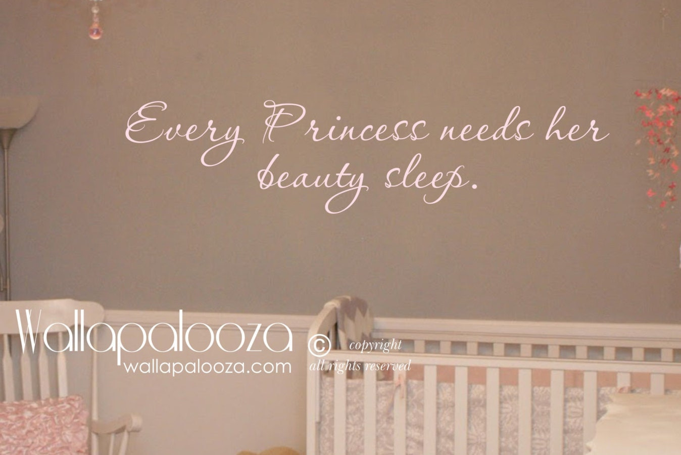 Every princess needs her beauty sleep wall decal princess zoom amipublicfo Image collections