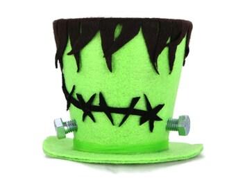 Halloween decoration, Frankenstein Halloween decoration, Frankenstein Costume top hat, Frankenstein decoration