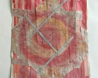Kite - Original Watercolor Collage