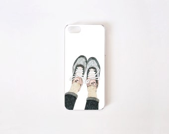 iPhone SE Case - Sneakers iPhone 5 Case - iPhone 5s case - Hard Plastic or Rubber
