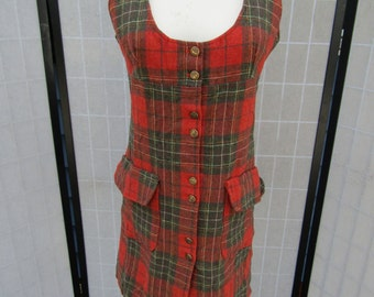 Ladies Pendleton Jumper; Pullover Dress
