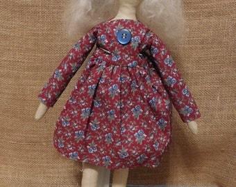 Handmade Primitive Folk Art Doll