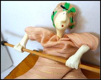 Vintage Doll Bean Bag by Poupee Millet