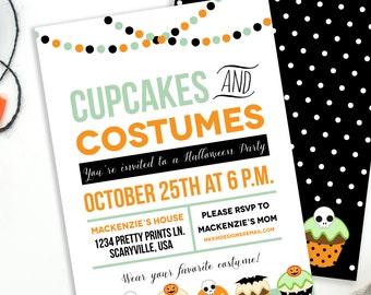 halloween invite etsy - Kids Halloween Party Invite