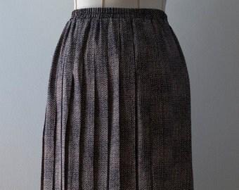 Leslie Fay Vintage Pleated Skirt