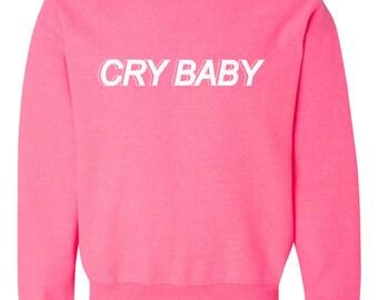 Cry Baby Crewneck Sweatshirt