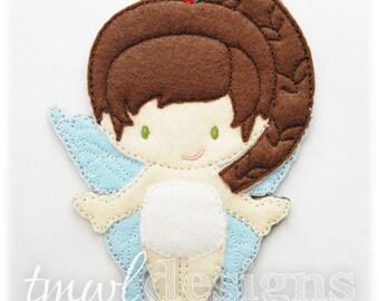 Aspenn Fairy Felt Paper Doll Toy Digital Design File - 5x7