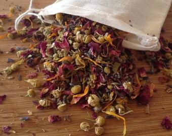 Floral Love Bath/Relaxation Soak/Love Soak/Floral Soak/Floral Tea/Floral Tea Bag
