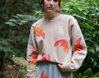 Hand Painted Anteaters Sweater