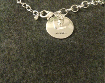 New Abercrombie silver plated Aries bracelet