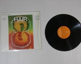 HAIR The American Tribal Love-Rock Musical LP Record Album LSO-1150