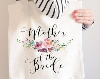 Mother Of The Bride Tote Bag,  Mother Of the Bride gift,  Mother Of the Bride bag, Custom Mother Of The Bride Bag, Wedding Parents Gift