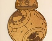 Star Wars BB-8 Droid Wooden Fridge Magnet
