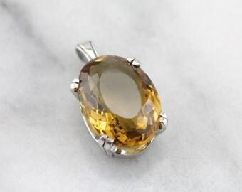 Darling, Sunshine, Honey: Honey Quartz Pendant  CPTQV1-R