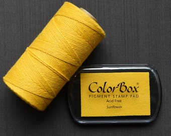 Sunflower Color Box Ink Pad - Archival Pigment Ink (Item 15170)