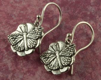 Sterling Silver Earrings – Butterfly Earrings – Sterling Earrings – Sterling Jewelry – Sterling Silver Jewelry – Sterling Butterfly Jewelry