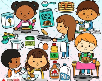Pancake clipart | Etsy | {Französische küche clipart 96}