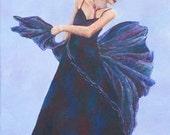 Midnight Blue Art Print B...