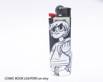 Scott Pilgrim Comic Book Lighter