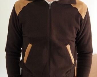 70's deadstock corduroy acrylic jacket 38