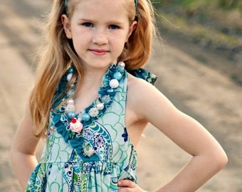 GrACiE Halter dress - pdf pattern 12M-10Y