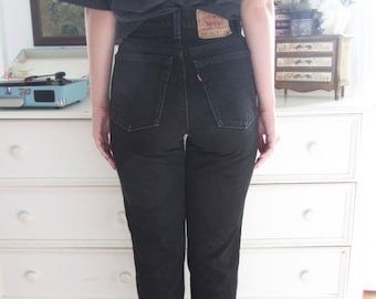 Black Denim Levis