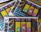"""FS2. """"Full-Size"""" Coloring Book 8.5"""" High X 11"""" Wide ZenPoodle©"""
